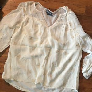 Tops - Boutique sheer Star Top